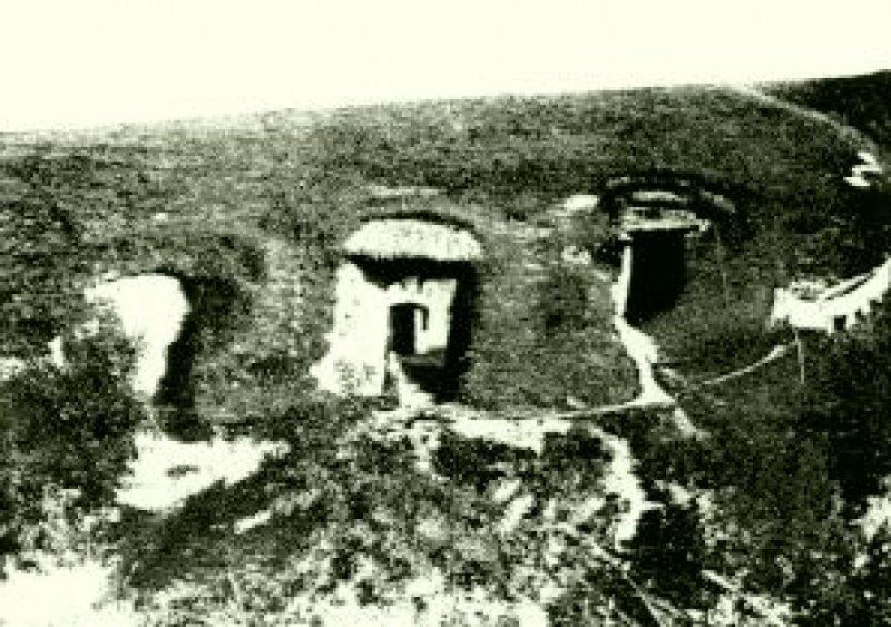 Az elpusztult ádándi barlanglakások
