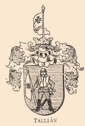 Tallián címer